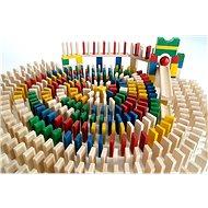 EkoToys Domino barevné 830 ks - Domino