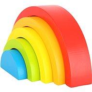 Small foot Folding Rainbow Blocks - Wooden Toy