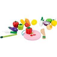 Small Foot Magnetický set ovoce a zelenina - Dřevěná hračka