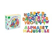 Vilac Magnetky tiskací abeceda - Dekorace do dětského pokoje