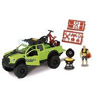 Dickie Ford Raptor s horským kolem - Auto