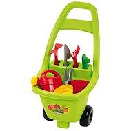 Ecoiffier Zahradní vozík s nářadím a příslušenstvím - Dětské zahradní kolečko