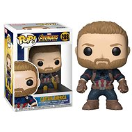 Funko Pop Marvel: Infinity War - Captain America - Figurka