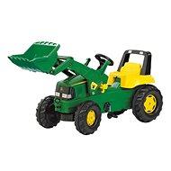 RollyToys Rolly Junior John Deere s předním nakladačem - Šlapací traktor