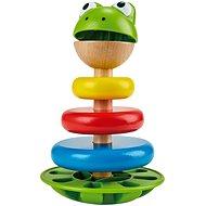Hračka pro nejmenší Hape Skládací žabák