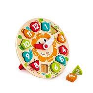 Hape Dětské puzzle hodiny