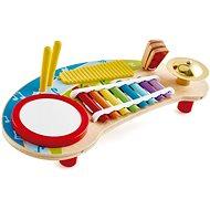 Hape Multifunkční xylofon s bubínkem - Hudební hračka