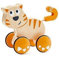 Hape Kočka - potlač a jeď - Hračka pro nejmenší