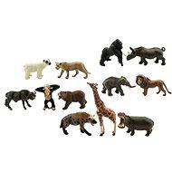 Zvířátka safari ZOO 12ks