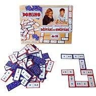 Domino sčítání a odčítání do 10 - Hra