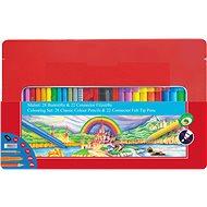 Faber-Castell Colour Pencils and Connector Felt Tip Pens, 50pcs - Set