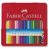 Faber-Castell Grip 2001, 24 barev - Pastelky