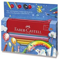 Faber-Castell Grip 2001, 16 barev - Pastelky