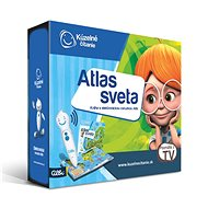 Magic Reading - Atlas Of The World With Albi Electronic Pencil SK - Children's book