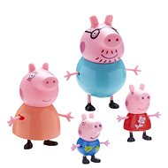 Peppa Pig set figurek 4ks - Herní set