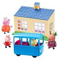 Peppa Pig Škola a školní autobus  - Doplňky k figurkám