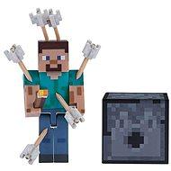 Minecraft Steve s šipkami - Figurka