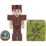 Minecraft Alex v kořené zbroji - Figurka