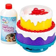 Fru Blu bublinový dort - Bublifuk