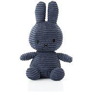 Miffy Corduroy dark blue - Plyšák