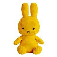 Miffy Sitting Corduroy Yellow 33cm - Plyšák