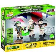 Cobi 2028 Britská armáda 3 figurky s doplňky