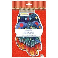 Avenue Mandarine Colouring Book with Stickers, Birds