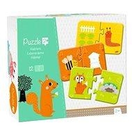 Avenue Mandarine Duo puzzle Zvířátka a jejich obydlí - Puzzle