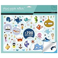 Maildor Great Notebook Stickers Sea