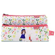 Kori Kumi Neoprene Double Pencil Case - Bon Voyage
