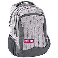 Studentský batoh Paso Arrows - Light grey - Školní batoh