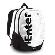 Lannoo Graphics White Istyle Origin - Školní batoh
