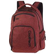 Coolpack Snow burgundy - Školní batoh