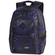 Flock Camo Blue - School Backpack