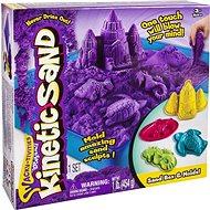 Kinetic Sand písečný zámek - fialový - Kinetický písek