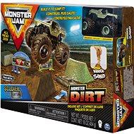 Monster Jam Sada s tekutým pískem delux - Set