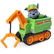 Tlapková patrola Vozidlo s figurkou ultimate rescue Rocky - Set