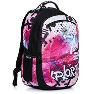 Viki Rainbow 2v1 - Školní batoh