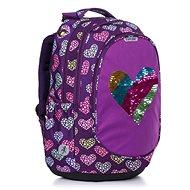 Explore Heart - Školní batoh