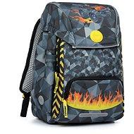 Yoola car 2v1 - Školní batoh