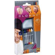 SES Obličejové pastelky, 6 barev - Kreativní sada