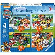 Ravensburger 069361 Tlapková Patrola 4 v 1 - Puzzle