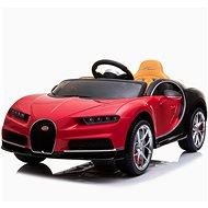 Bugatti Chiron - červené - Dětské elektrické auto