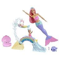 Barbie Dreamtopia Herní set s mořskou vílou - Panenka