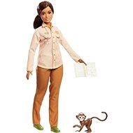 Barbie Povolání National Geographic s opičkou - Panenka