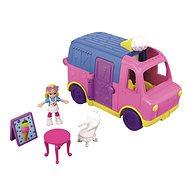 Polly Pocket Vozidlo Ice Cream truck Le camion de Glaces - Herní set
