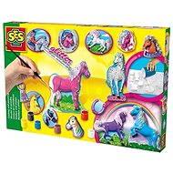SES Odlévání a malování koní - Kreativní sada