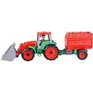 Truxx Traktor s přívěsem na seno, ozdobný kartón - Auto
