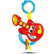 Clementoni Elektronické chrastítko kytara