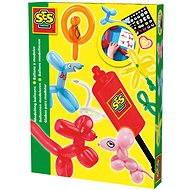 SES Tvarovací balonky s hustilkou - Kreativní sada